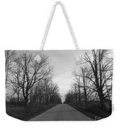 Christmas Day Country Road Weekender Tote Bag