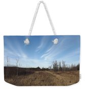 Christmas Day In The Country Weekender Tote Bag