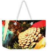 Christmas Decorations Weekender Tote Bag