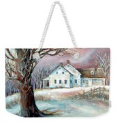Christmas Destiny Weekender Tote Bag