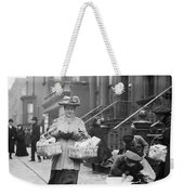 Christmas Dinner, 1908 Weekender Tote Bag