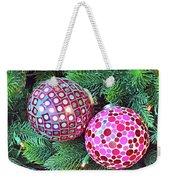 Christmas Dots No. 1-1 Weekender Tote Bag