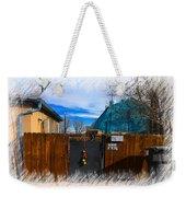 Christmas Down The Alleyway Weekender Tote Bag