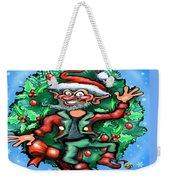 Christmas Elf Weekender Tote Bag