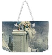 Christmas Eve Weekender Tote Bag by Gustave Dore