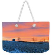 Christmas Eve Panrama Weekender Tote Bag