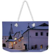 Christmas Evening Light In The Temple Suzdal Weekender Tote Bag