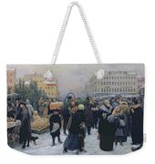 Christmas Fair  Weekender Tote Bag