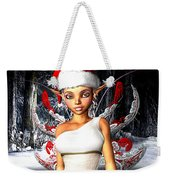 Christmas Fairy Weekender Tote Bag
