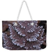 Christmas Frosty Pattern Weekender Tote Bag