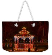 Christmas Gazebo Weekender Tote Bag
