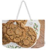 Christmas Gingerbread Cookies Weekender Tote Bag