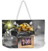 Christmas Golden Gift  Weekender Tote Bag