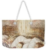 Christmas Illustrations From The Night Before Christmas Weekender Tote Bag