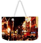 Christmas In Amsterdam Weekender Tote Bag