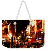 Christmas In Amsterdam Weekender Tote Bag