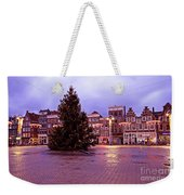 Christmas In Amsterdam The Netherlands Weekender Tote Bag