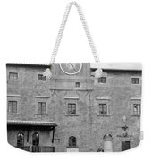 Christmas In Cortona Weekender Tote Bag