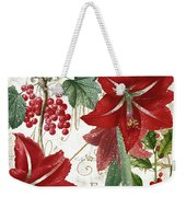 Christmas In Paris II Weekender Tote Bag