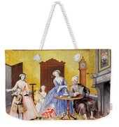 Christmas In The Royal Household Of Empress Maria Theresa Of Austria With Family Weekender Tote Bag