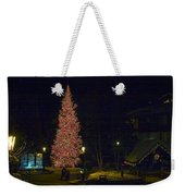 Christmas In Vail Weekender Tote Bag