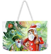 Christmas In York Weekender Tote Bag