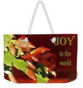 Christmas Joy Weekender Tote Bag