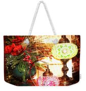 Christmas Lamps Weekender Tote Bag