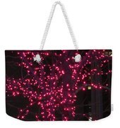 Christmas Lights 6th Ave 4 Abstract Weekender Tote Bag
