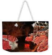 Christmas Lights At Clifton Mill Weekender Tote Bag
