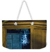 Christmas Lights In Gazebo Weekender Tote Bag