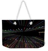 Christmas Lights Zoom Blur Weekender Tote Bag