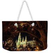 Christmas Market At The Vienna City Hall Weekender Tote Bag