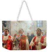 Christmas Mass 2010 Weekender Tote Bag