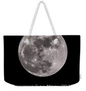 Christmas Moon 2015 Weekender Tote Bag