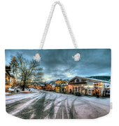 Christmas On Main Street Weekender Tote Bag