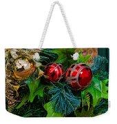 Christmas Ornaments Weekender Tote Bag