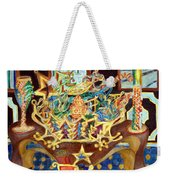 Christmas Ornaments Weekender Tote Bag