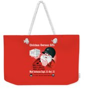 Christmas Overseas Gifts -- Ww2 Weekender Tote Bag
