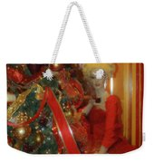 Christmas Parlor Fashions For Evergreens Event Hotel Roanoke 2009 Weekender Tote Bag
