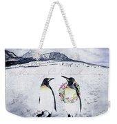 Christmas Penguins Weekender Tote Bag