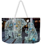Christmas Polar Bears Weekender Tote Bag