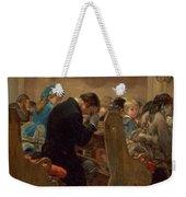 Christmas Prayers Weekender Tote Bag by Henry Bacon