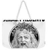 Christmas Present Ad, 1890 Weekender Tote Bag