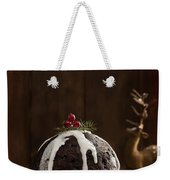 Christmas Pudding With Cream Weekender Tote Bag