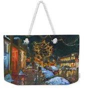 Christmas Reflections Weekender Tote Bag