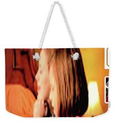 Christmas Ride Family Poster By Karen E. Francis Weekender Tote Bag