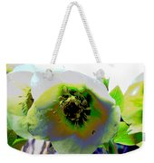 Christmas Rose  Weekender Tote Bag