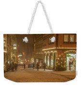Christmas Shopping Weekender Tote Bag