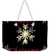 Christmas Snowflakes Weekender Tote Bag